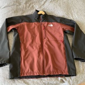 Authentic North Face soft shell men's jacket